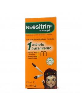 NEOSITRIN 100 % SPRAY ANTIPIOJOS GEL LIQUIDO 100 ML