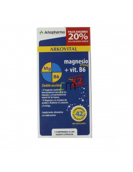 ARKOVITAL MAGNESIO+B12 EFERVES X2 TUBOS