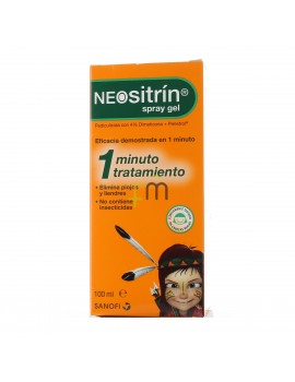 NEOSITRIN 100 % SPRAY ANTIPIOJOS GEL LIQUIDO 100 ML